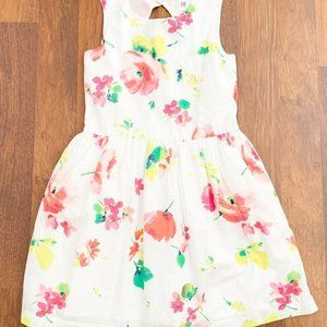 Gap Kids Floral Dress Girls Size 12